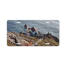 Point Reyes lighthouse on C Aluminum License Plate