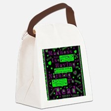 Forever Twilight Canvas Lunch Bag