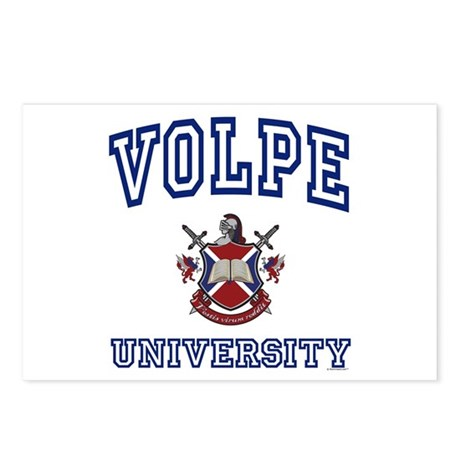VOLPE University Postcards (Package of 8)