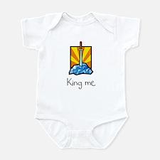 King me. Infant Bodysuit