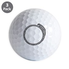 LiquidLibrary Golf Ball