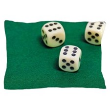game of chance Pillow Case