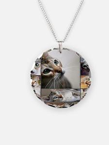 Singapura Cats Necklace