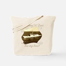 Funny Uss champlain Tote Bag