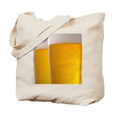 Two glasses of beer Tote Bag