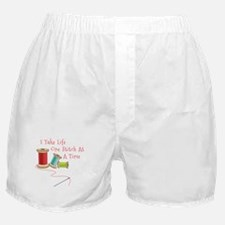 One Stitch at a Time Boxer Shorts
