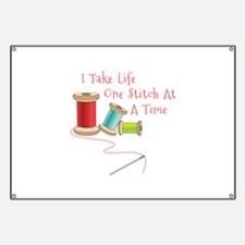 One Stitch at a Time Banner