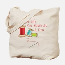 One Stitch at a Time Tote Bag