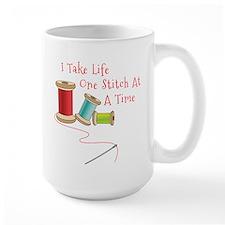 One Stitch at a Time Mugs