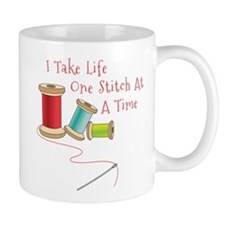 One Stitch at a Time Mugs