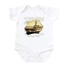 Unique Uss nimitz Infant Bodysuit