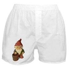 Retro Lawn Gnome Boxer Shorts