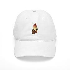 Retro Lawn Gnome Baseball Cap