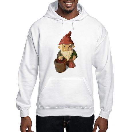 Retro Lawn Gnome Hooded Sweatshirt