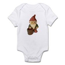 Retro Lawn Gnome Infant Bodysuit