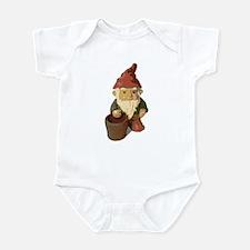 Retro Lawn Gnome Infant Bodysuit