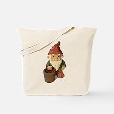 Retro Lawn Gnome Tote Bag