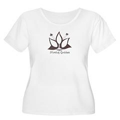 Nursing Goddess Plus Size Scoop Neck T-Shirt