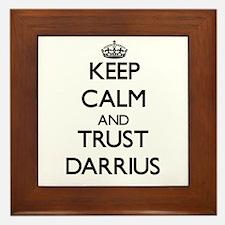 Keep Calm and TRUST Darrius Framed Tile
