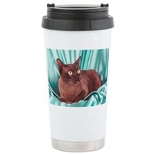 Burmese cat Travel Mug