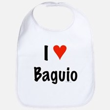 I love Baguio Bib