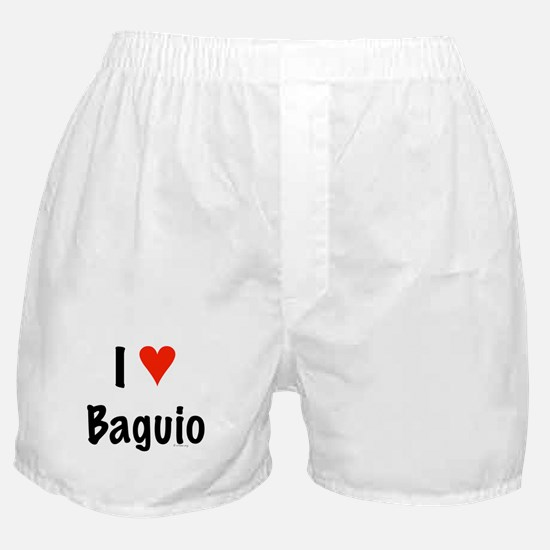 I love Baguio Boxer Shorts