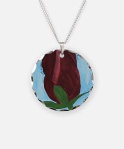 Rumi Rose Poetry Necklace