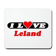 I Love Leland Mousepad