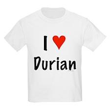 I Love Durian T-Shirt