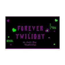 Forever Twilight Rectangle Car Magnet