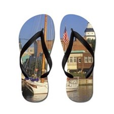 'State Capitol of Maryland, Annapolis' Flip Flops