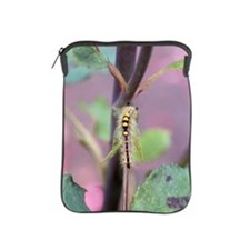 Caterpiller on branch iPad Sleeve