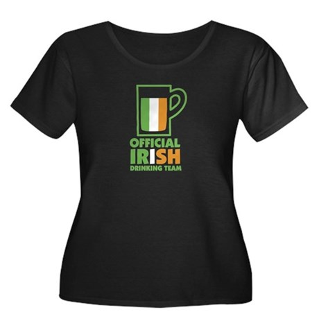Official Irish Drinking Team Women's Plus Scoop