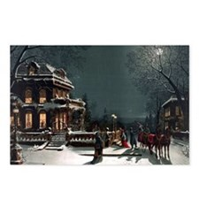 Vintage Christmas Eve Postcards (Package of 8)