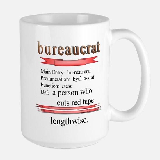 Bureaucracy Defined Mugs