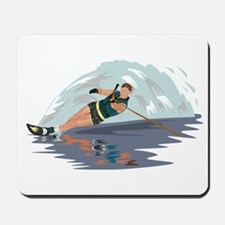 Water Skiing Mousepad
