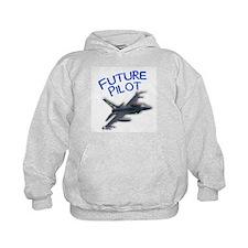 future pilot (F-16) Hoodie