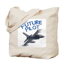 future pilot (F-16) Tote Bag