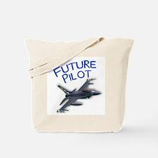 future pilot (F-16) Tote Bag