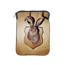 Stuffed and mounted animal head iPad Sleeve