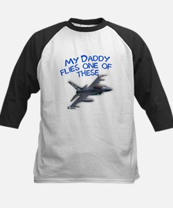 my daddy flies one of these Kids Baseball Jersey