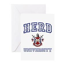 HERD University Greeting Cards (Pk of 10)