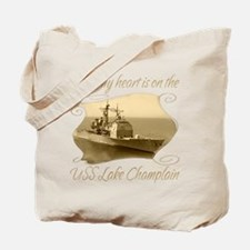Uss champlain Tote Bag