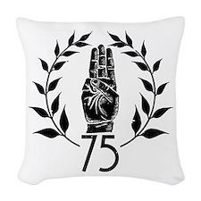 Salute Woven Throw Pillow