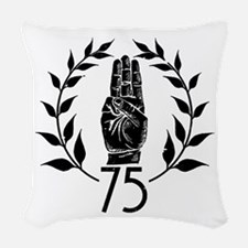 Salute Woven Throw Pillow