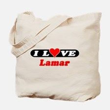 I Love Lamar Tote Bag