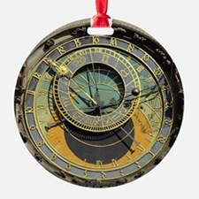 Prague Astronomy Clock Ornament