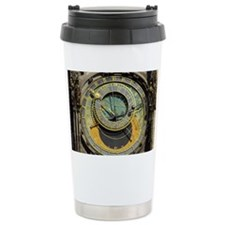 Prague Astronomy Clock Travel Mug