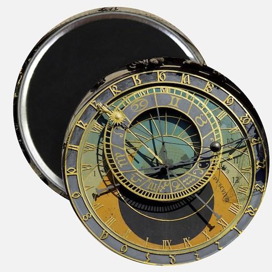 Prague Astronomy Clock Magnet
