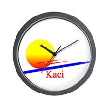 Kaci Wall Clock